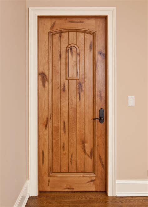 Custom Solid Wood Interior Doors  Traditional Design