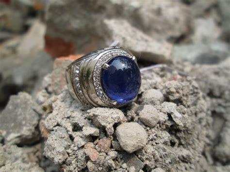 cnc phoneshop jual batu blue safir indah ikatan perak