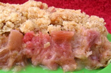 best rhubarb crisp recipes rhubarb crisp recipe ideas