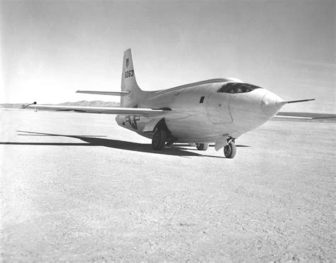 X-1-2 On The Rogers Dry Lakebed