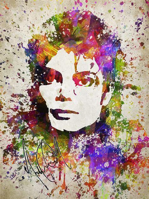 Elvis Presley Artwork by Michael Jackson In Color Digital Art By Aged Pixel