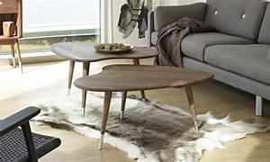 Idée Déco Salon Scandinave : la table basse scandinave une id e d co de salon design ~ Melissatoandfro.com Idées de Décoration