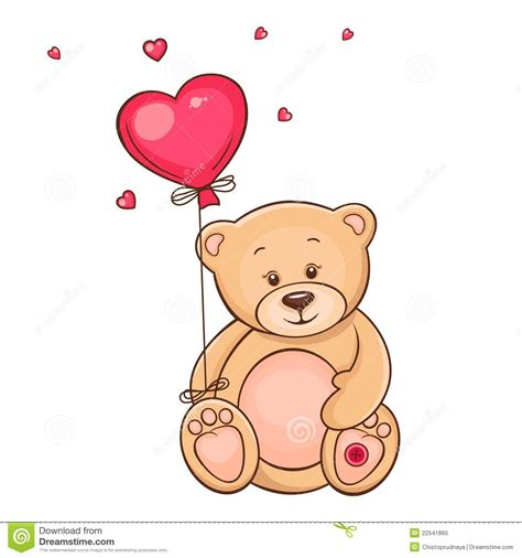get well soon baloons teddy with balloon royalty free stock photo