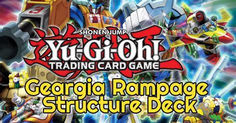 Yugioh Geargia Deck List 2014 by Geargia Rage Structure Deck