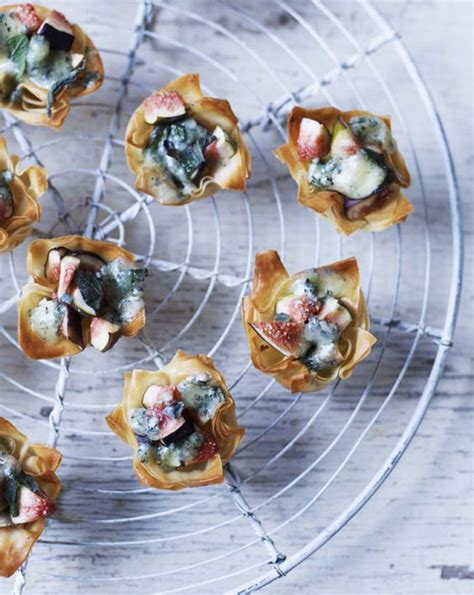 easy canapes to make in advance blue cheese and fig recipe brie bites goat cheese and goat cheese recipes