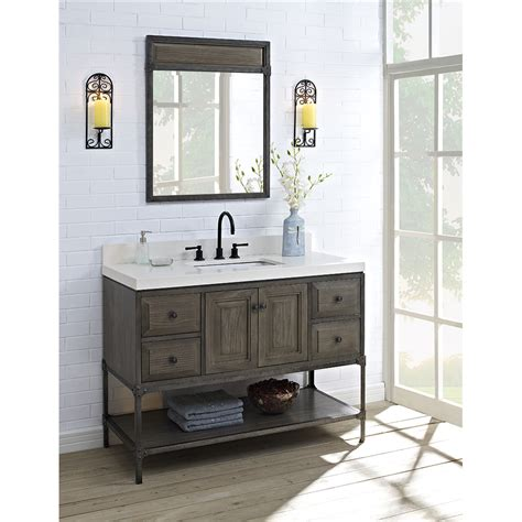 Bathroom Vanities Toledo Ohio Fairmont Designs Toledo 48 Quot Vanity With Doors For Quartz