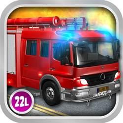 3D Fire Truck Games