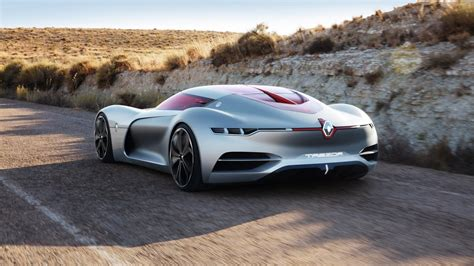 renault trezor renault trezor electric gt concept fully unveiled video