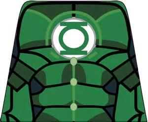 Green Lantern LEGO Decals