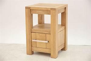 Chevet Bois Massif : chevet design 1 tiroir 1 niche ~ Teatrodelosmanantiales.com Idées de Décoration