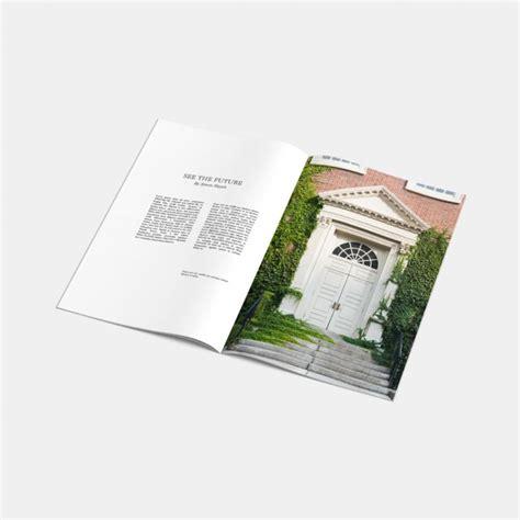 mag de gratis mock up de revista abierta descargar psd gratis