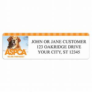 aspca r dogs address labels walmart With aspca address labels