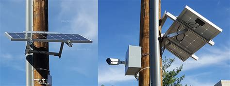 Wireless Surveillance Camera System For Construction Sites