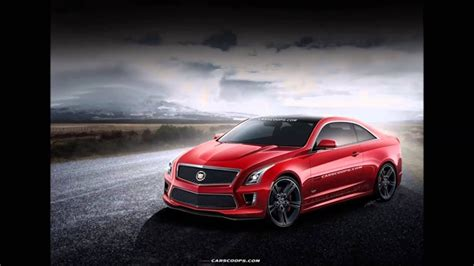 cadillac ats  coupe rendering leaked horsepower