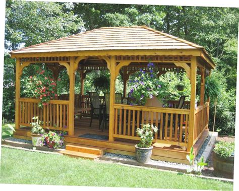 backyards with gazebos gazebo ideas