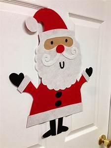 Weihnachtsmann Basteln Aus Pappe : new image group blog felt santa reindeer and snowman ~ Haus.voiturepedia.club Haus und Dekorationen