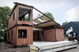 construire une maison container ou maison individuelle With les demarches pour construire une maison