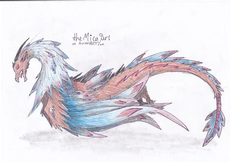 The Feather Dragon Of Legends By Miconutziri On Deviantart