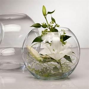 Succulentes Pas Cher : glasvase globe vase glas tischvase blumenvase windlicht rund 30 cm ebay ~ Melissatoandfro.com Idées de Décoration