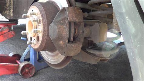 volvo  classic rear brake job youtube