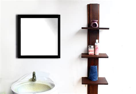 ways  create  bathroom shelving unit wikihow