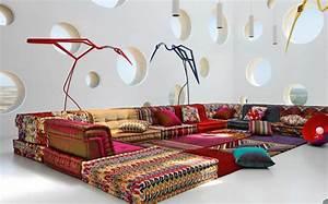 le canape design revisite par roche bobois With canape original design