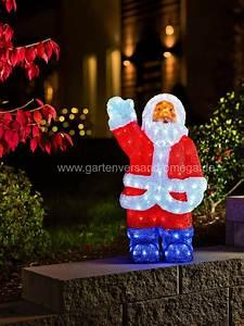 Weihnachtsbeleuchtung Aussen Figuren : konstsmide 6153 203 led acrylfigur weihnachtsmann f r au en ip44 24v au entrafo 48 ~ Buech-reservation.com Haus und Dekorationen