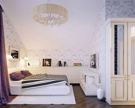 sloped ceiling ideas for bedrooms with flowers