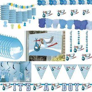 Deko Taufe Junge : party deko geburt taufe junge babyparty baby deko blau hellblau feier ebay ~ Watch28wear.com Haus und Dekorationen
