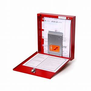 space age electronics inc fad fire alarm documents box With box documents