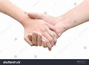 Mans Hand Hold By Girl Hand Stock Photo 138047477 ...