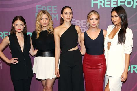 Pretty Little Liars Cast - 2016 ABC Freeform Upfront in ...