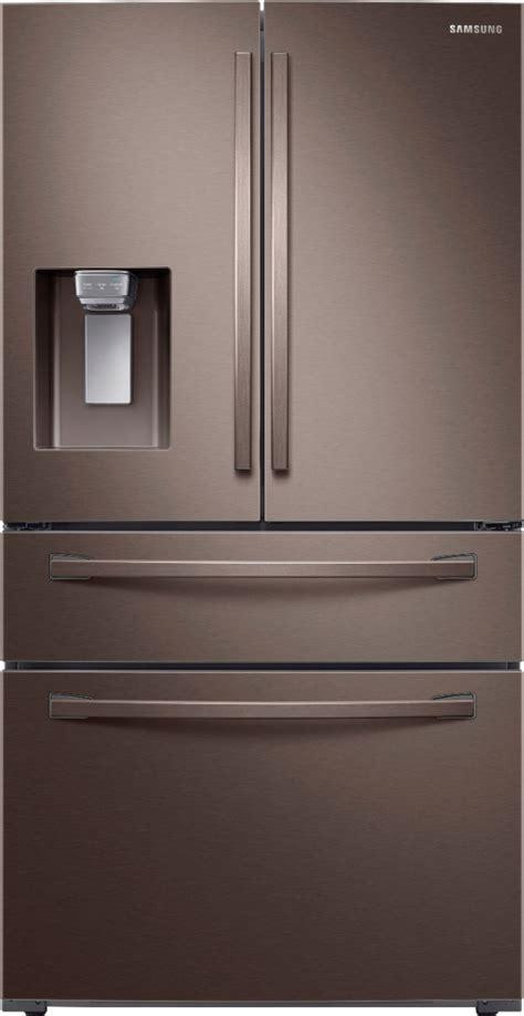 samsung  cu ft  door french door refrigerator tuscan stainless steel  pacific sales