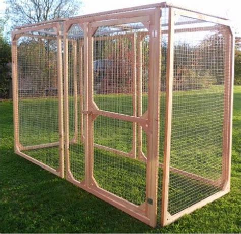 construire un enclos exterieur pour chat enclos parc voli 232 re chati 232 re anti renard 16 tailles cielterre commerce