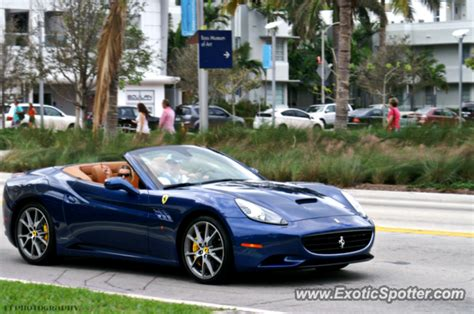 Pages using duplicate arguments in template calls. Ferrari California spotted in Miami, Florida on 12/28/2012, photo 7