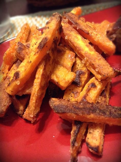 how to make crispy fries how to make crispy baked sweet potato fries recipe snapguide