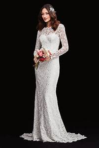 melissa sweet linear lace wedding dress david039s bridal With melissa sweet linear lace wedding dress