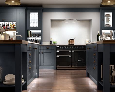 Milton Midnight kitchen   Country   Kitchen   Other   by