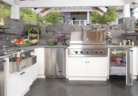 summer kitchen design how to organize a summer kitchen tips ideas and photos 2605