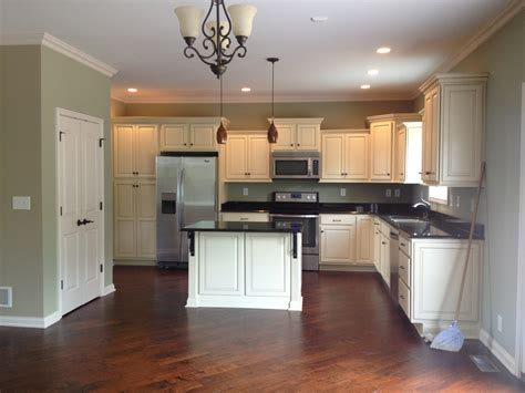 kitchen decoration wall color ideas for with dark cabinets