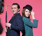 THE AVENGERS TV SERIES PATRICK MACNEE DIANA RIGG COLOUR ...