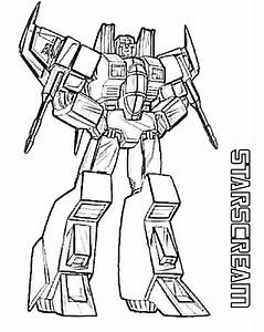 starscream transformers coloring page transformer With wiring transformers