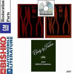 old car repair manuals 1967 pontiac lemans engine control 1967 pontiac lemans tempest gto shop service repair manual cd ebay