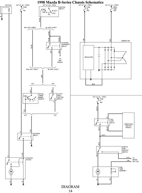 Mazda Bt 50 Headlight Wiring Diagram by Solved Wiring Diagram For Mazda B2500 1998 Fixya