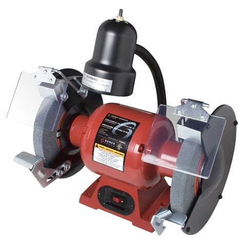 Grinder Bench by 8 Bench Grinder With Light Sunex Tools 5002a