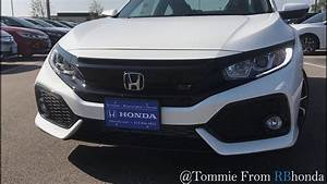 2017 Honda Civic Si : Coupe in White Orchid Pearl - YouTube