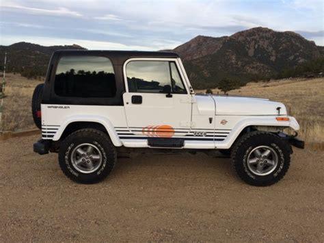 jeep islander 1992 jeep wrangler islander 4 0l 5spd hardtop 158k rust
