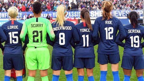womens soccer team honors cardi  malala  beyonce