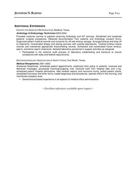 kinesiology resume
