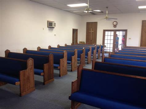 matching church furniture in liberal kansas born again pews